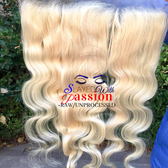 13x4 High Quality platinum blonde hair - Vietnamese