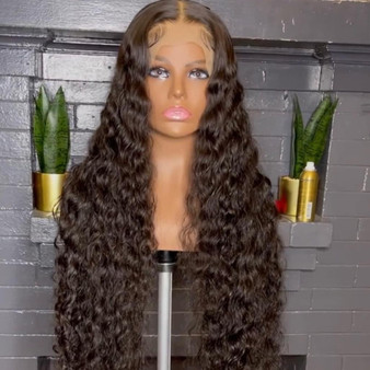 Curly(Italian) Lace Frontal Wig