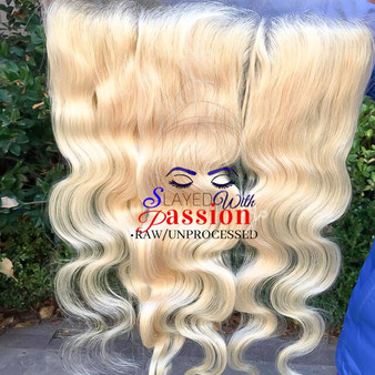 13x6 High Quality 613 blonde hair - Vietnamese