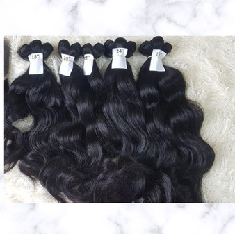 Closure Cambodian Natural Wavy
