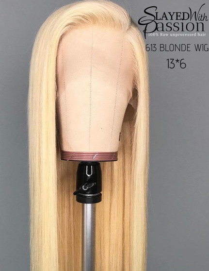 613  13*6 lace frontal wig  straight