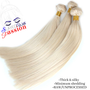 Raw Brazilian  unprocessed 613 texture: straight 100% human hair