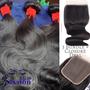 Deluxe 3 Bundle deal + Closure texture: Bodywave Lace material: Swiss transparent  3 bundle deal  indian  4x4 closure