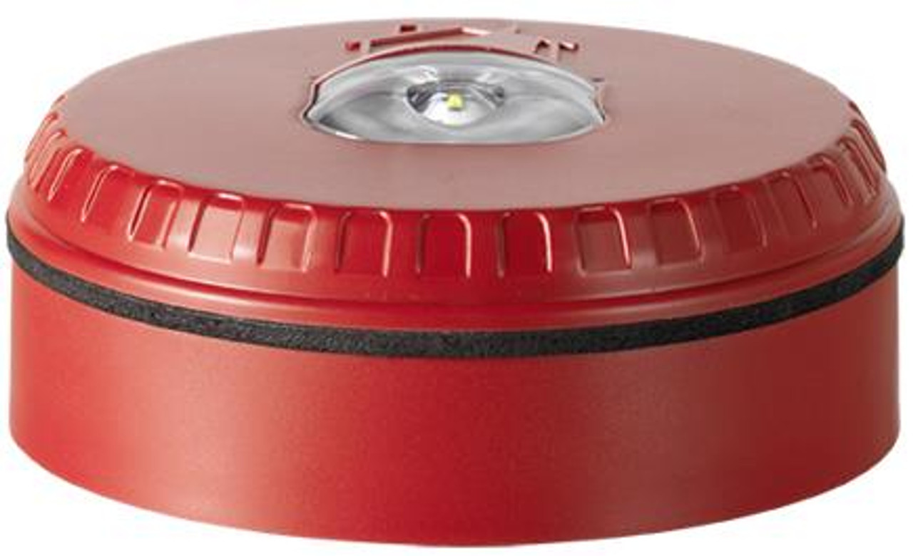 Siemens SOL-LX-W-RR, S54370-N30-A3 Beacon with red housing and red flash color