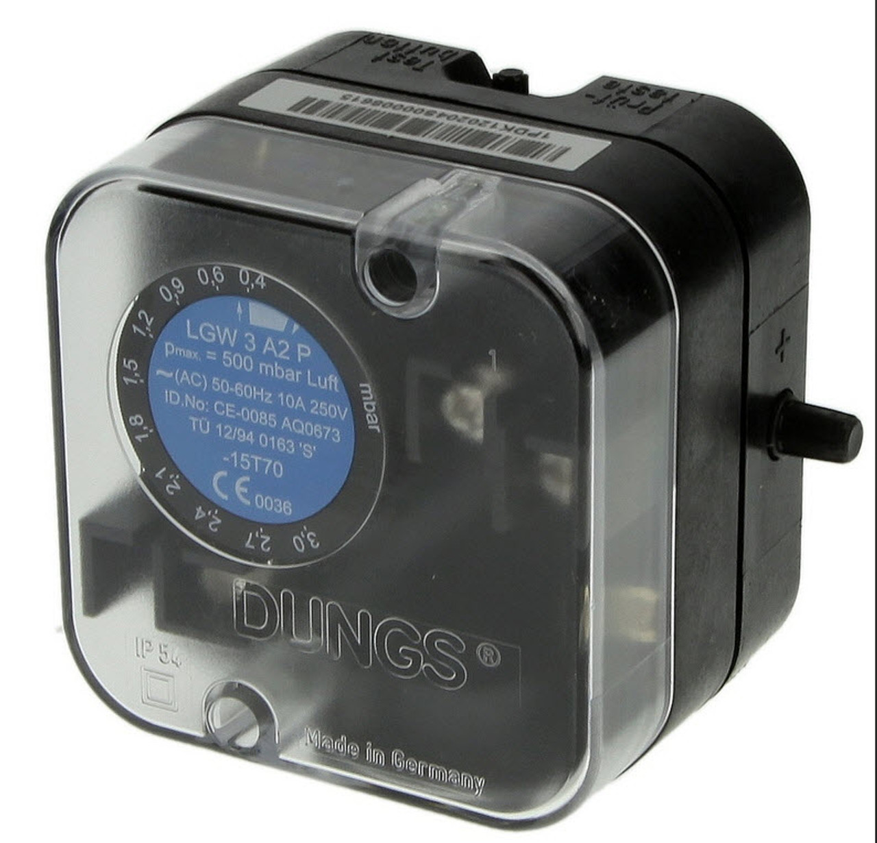 Dungs pressure switch LGW3A2P