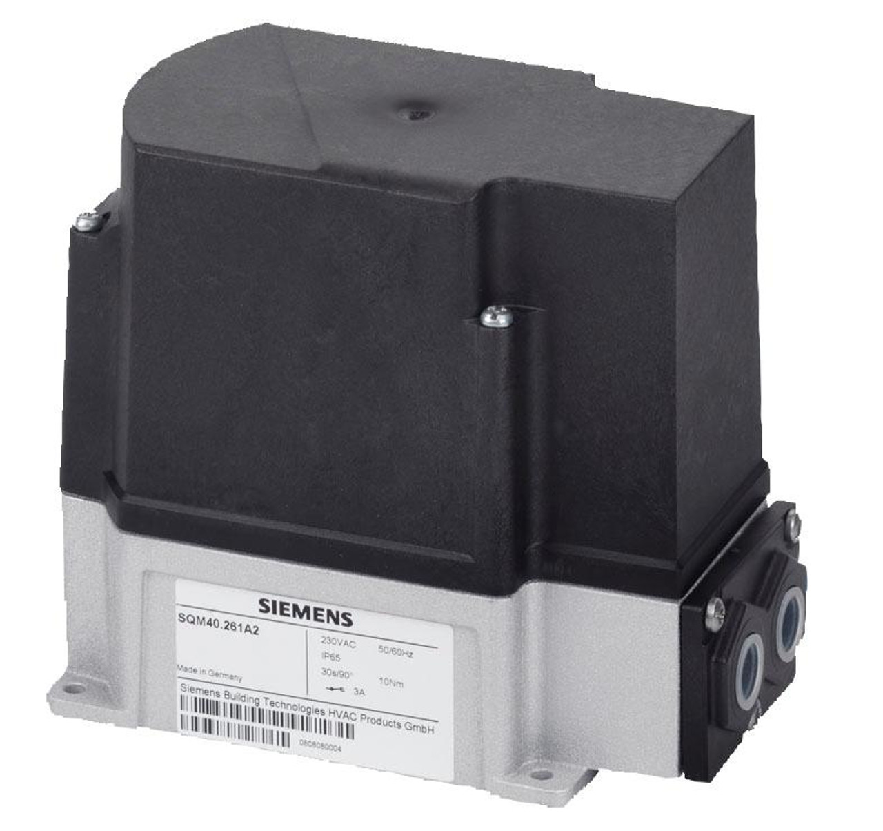 Siemens SQM41.271R10, Actuators for air and gas dampers