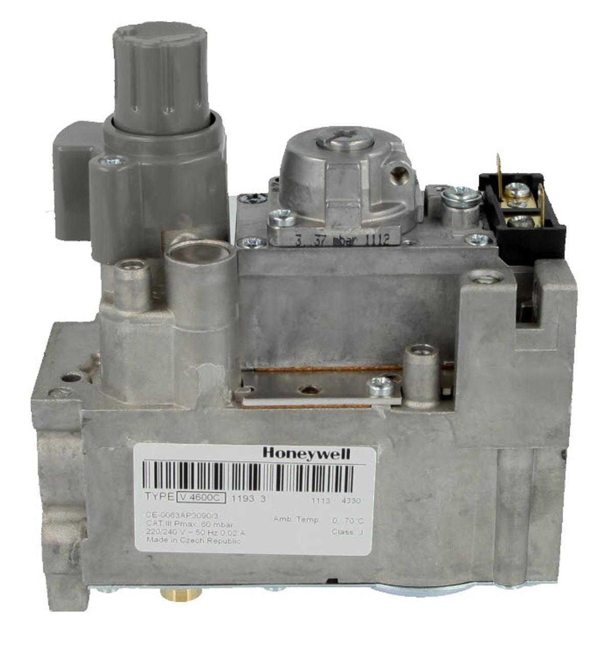 Honeywell V4600C1193U Compact Gas control block