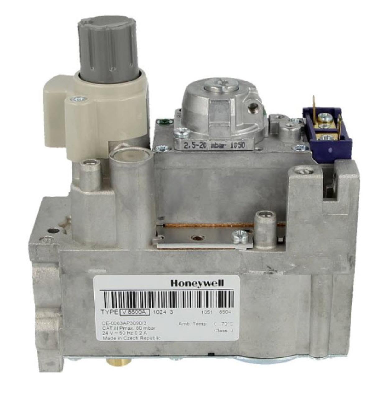 Honeywell V8600A1024U Gas control block
