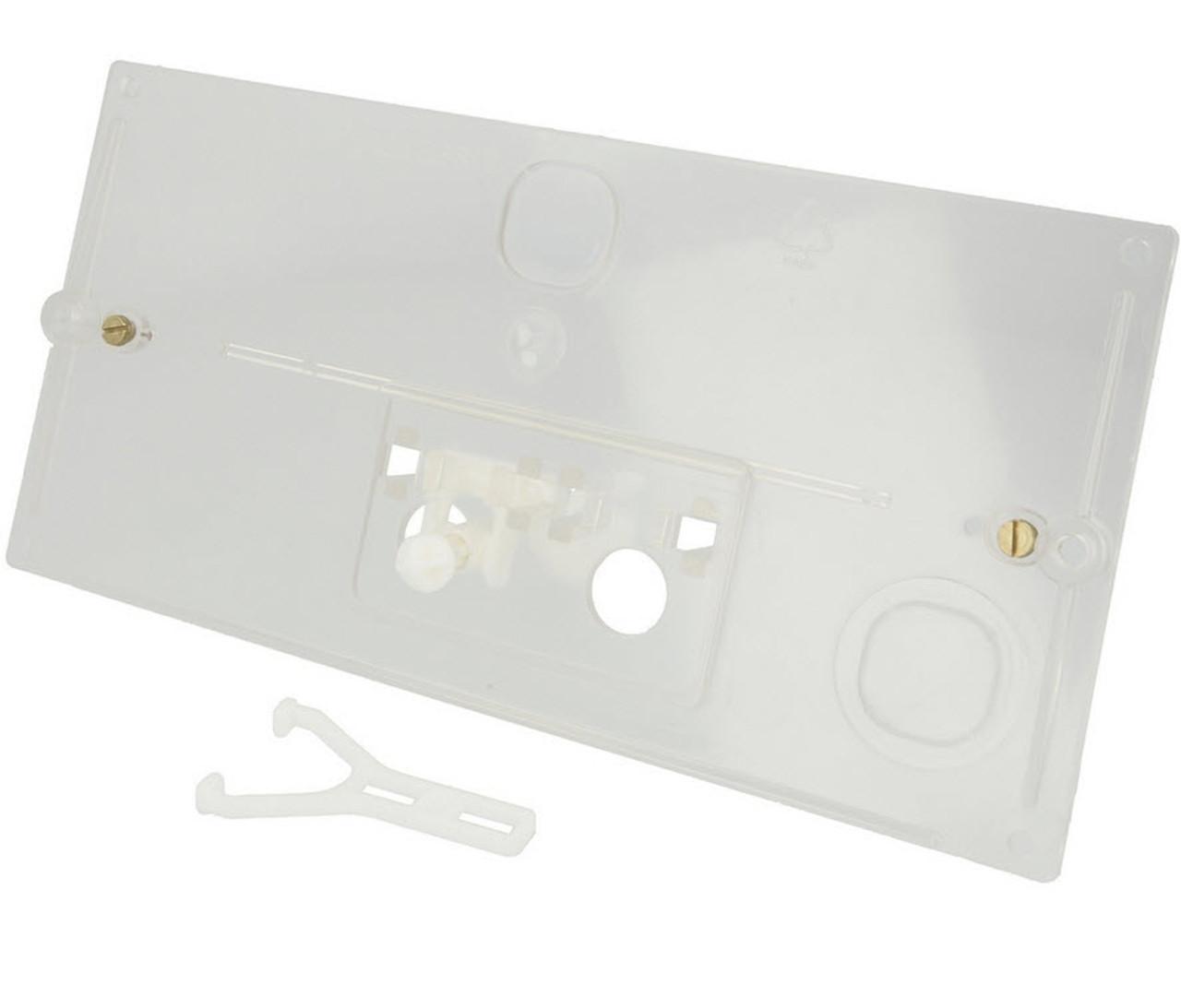 Geberit protective plate transparent 240.026.00.1