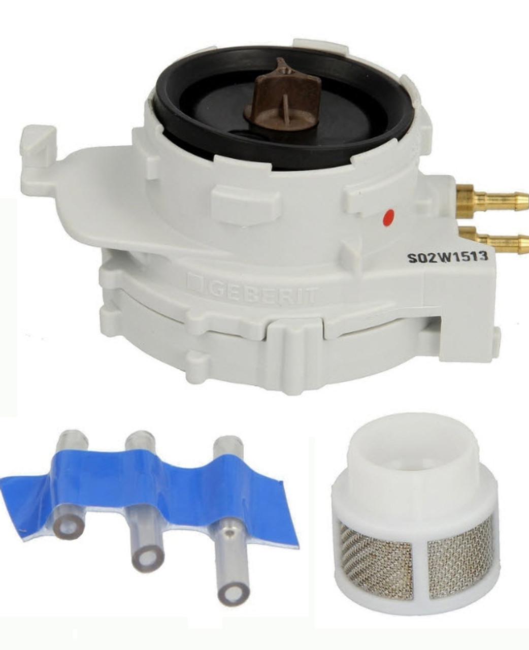 Geberit pneumatic valve for urinal flush control, 240.519.00.1