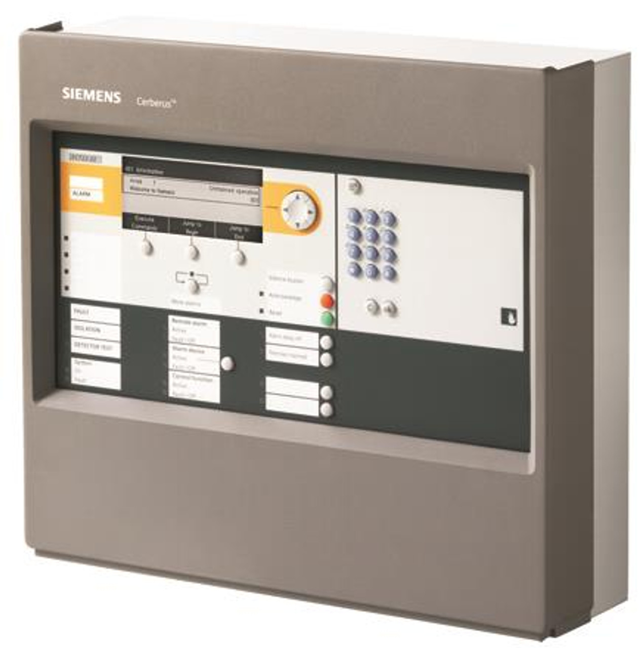 Siemens FC722-ZZ, S54400-C29-A5 Fire control panel