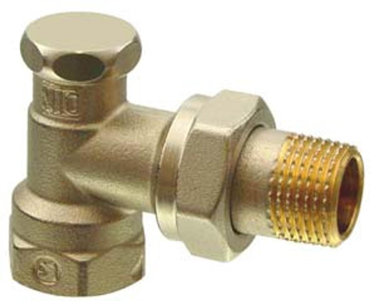 Siemens AEN20 Angle lockshield valve