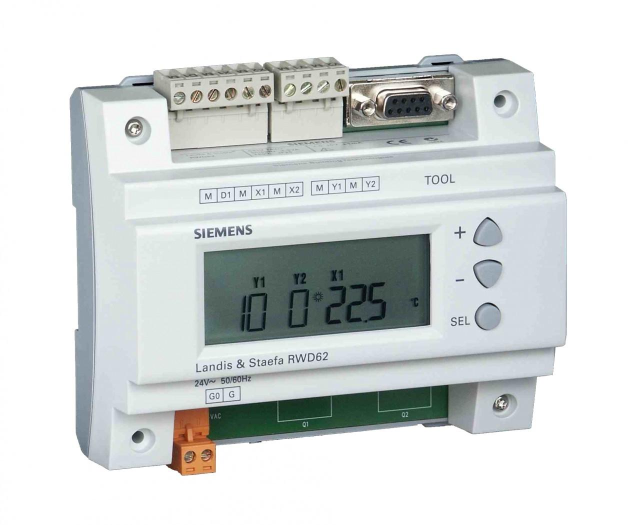 Siemens RWD62, Universal controller