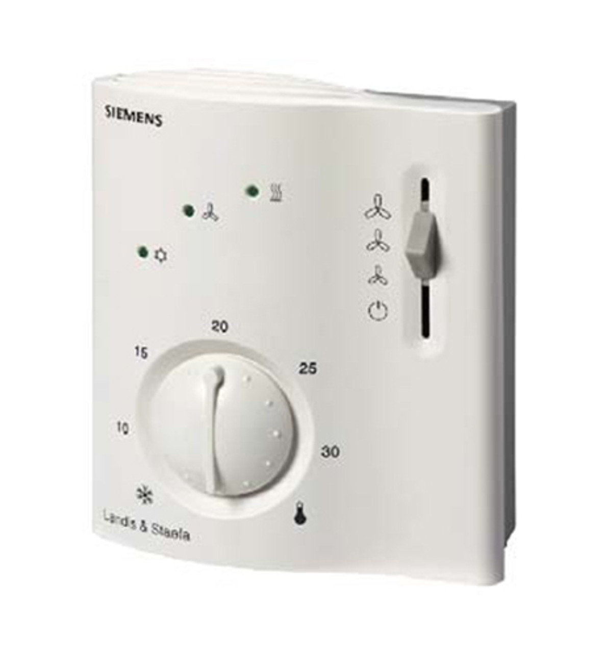Siemens RCC30, Room thermostat for 4-pipe fan coils, AC 230 V