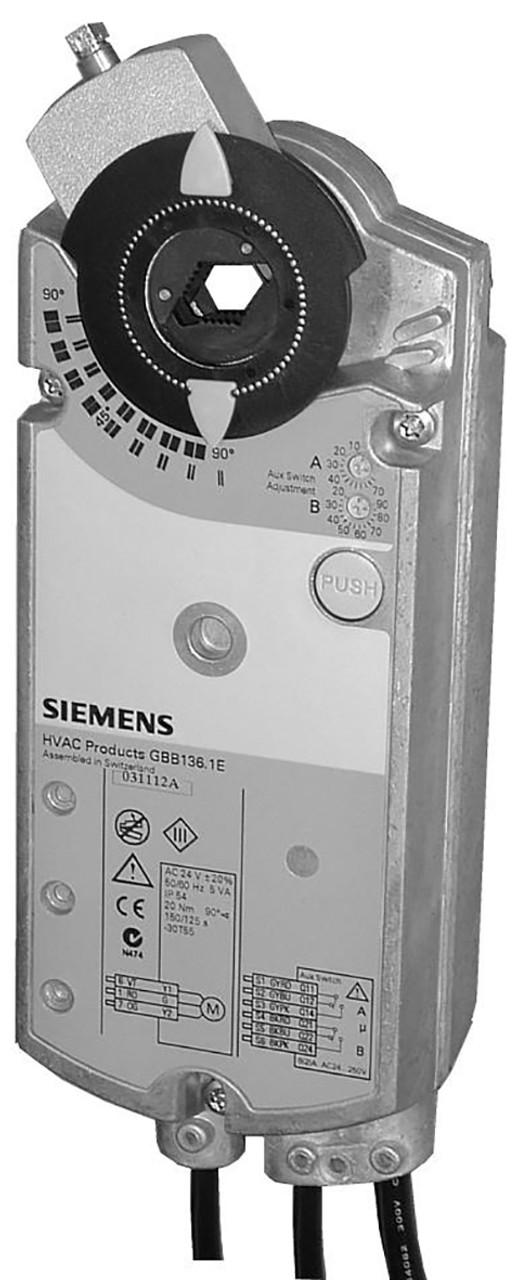 Siemens GIB131.1E rotary air damper actuator