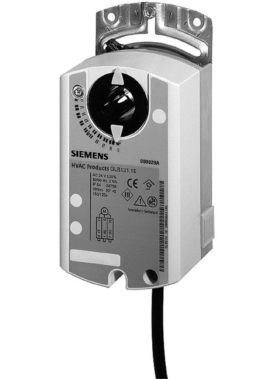 Siemens GLB166.1E, S55499-D273 Rotary air damper actuator