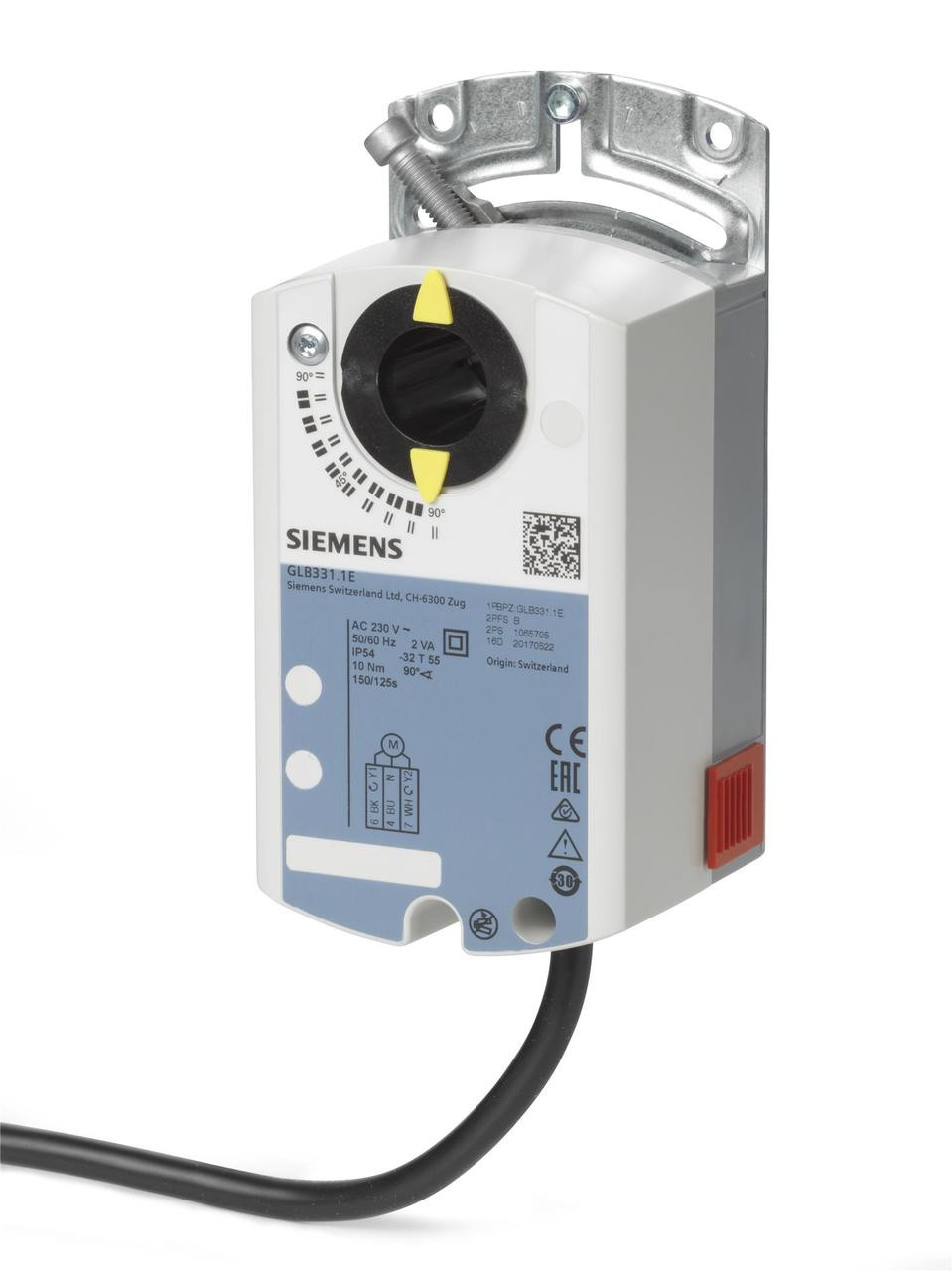 Siemens GLB331.1E Rotary air damper actuator