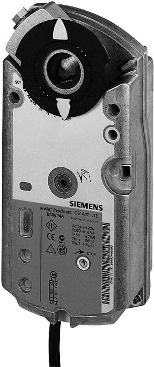 Siemens GMA126.1E rotary air damper actuator 2-position