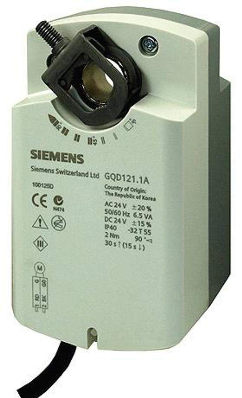 Siemens GQD121.1A rotary air damper actuator