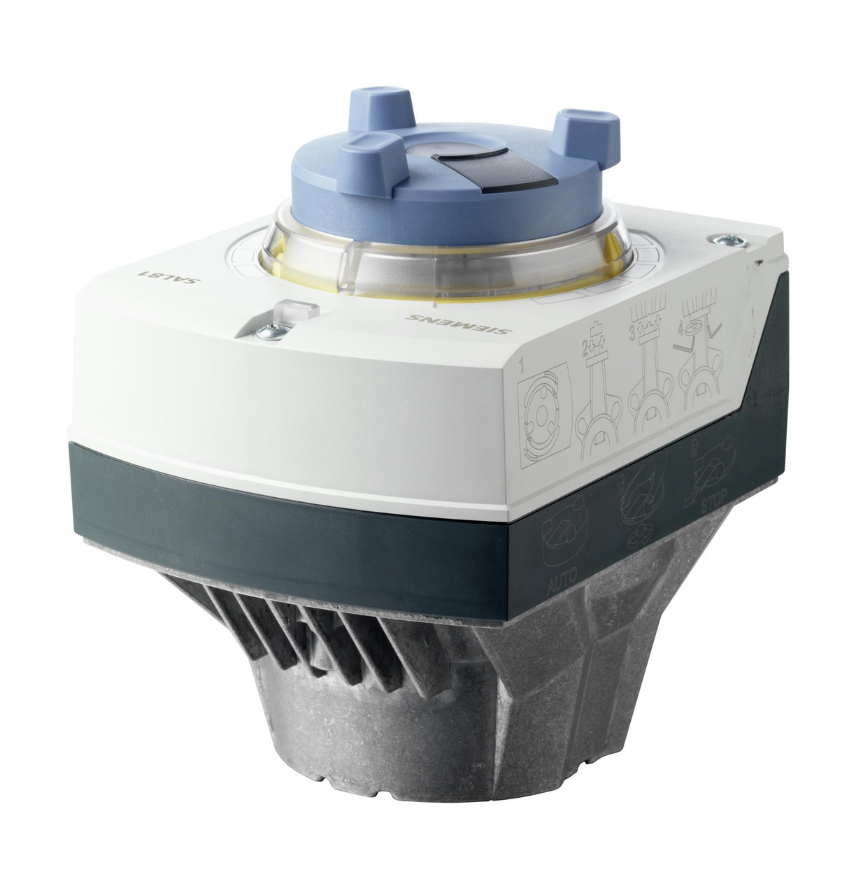 Siemens SAL81.03T10, S55162-A105, Electromotoric actuator