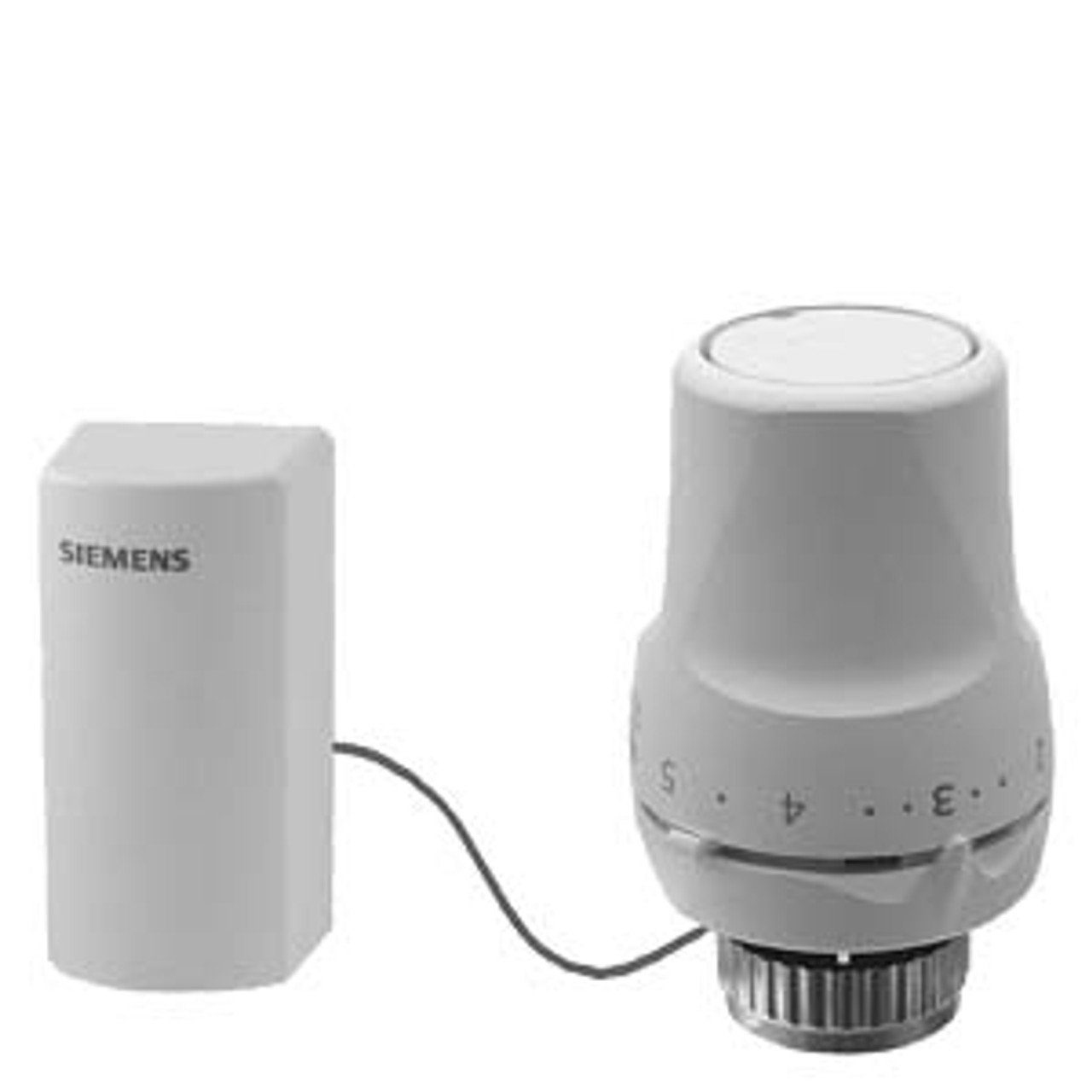 Siemens RTN71 Thermostatic actuator with remote sensor