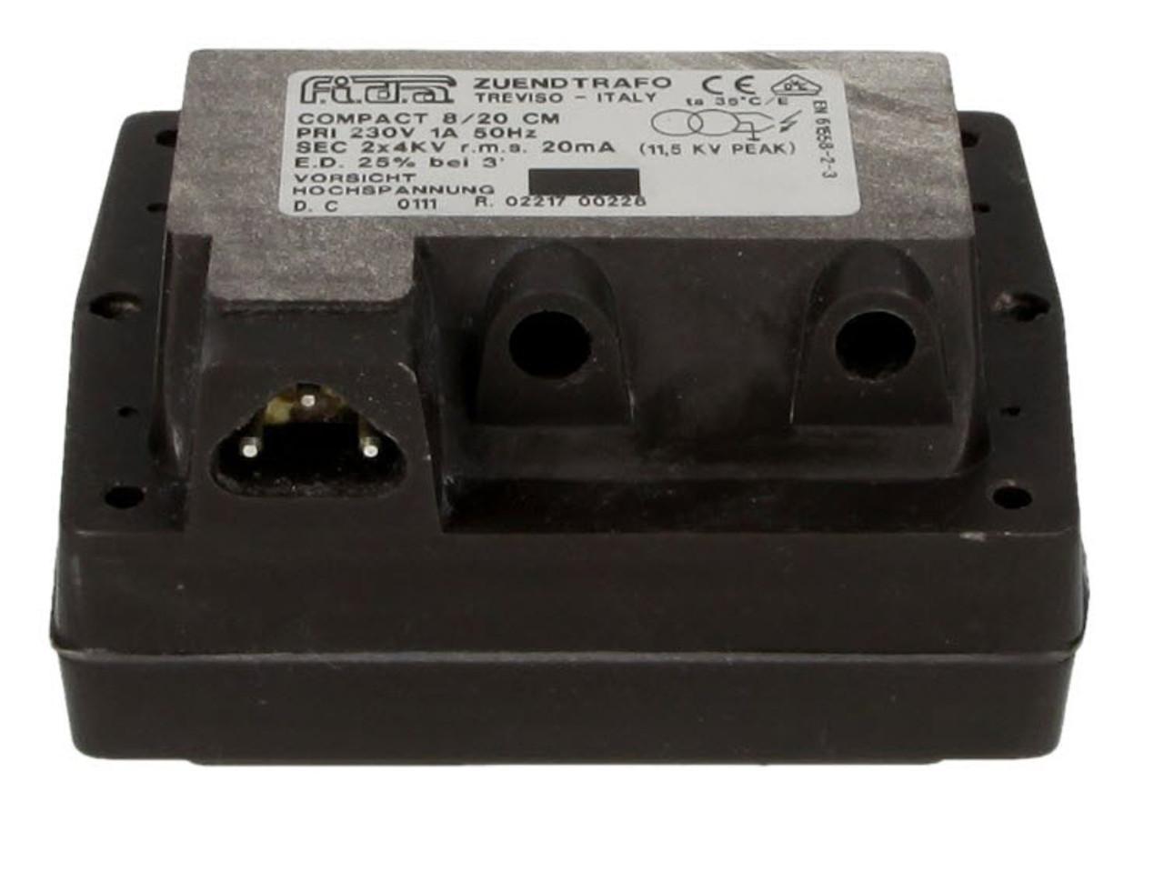 8/20 CM, FIDA ignition transformer