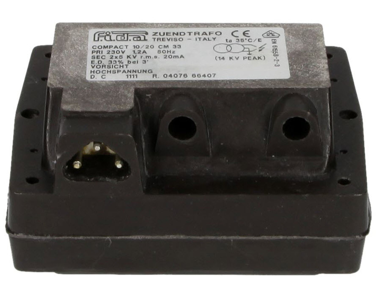 Ignition transformer FIDA 10/20 CM 33