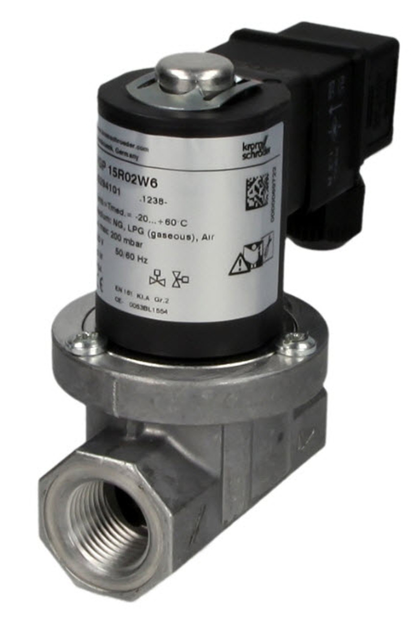 Gas solenoid valve VGP15R02W6, 1/2″ Kromschroder