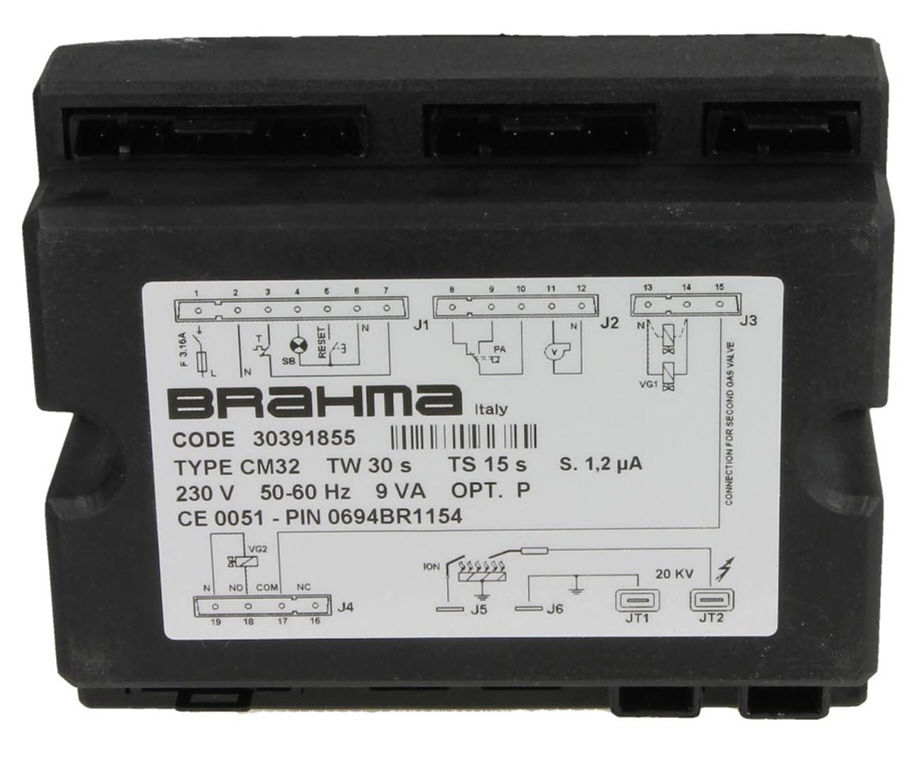 Control unit Brahma CM 32, 30391855