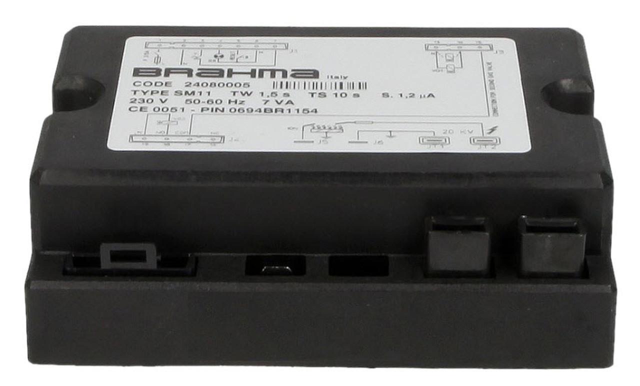 Gas burner control unit Brahma SM11 24080005