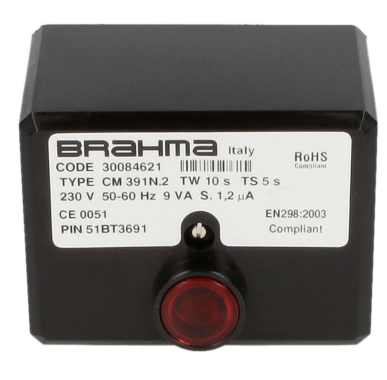 Burner control unit Brahma CM391.2 30084621