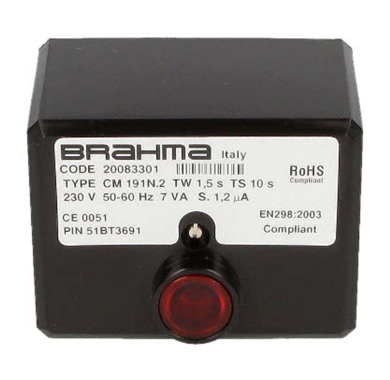 Brahma CM 191.2 20083301 Gas burner control unit