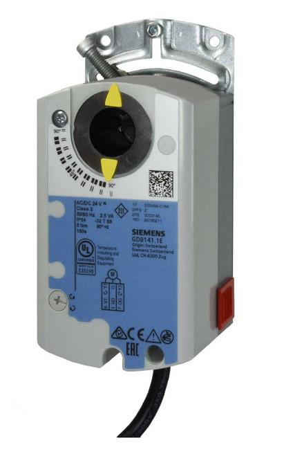 Siemens GDB141.1E, S55499-D184 Rotary air damper actuator