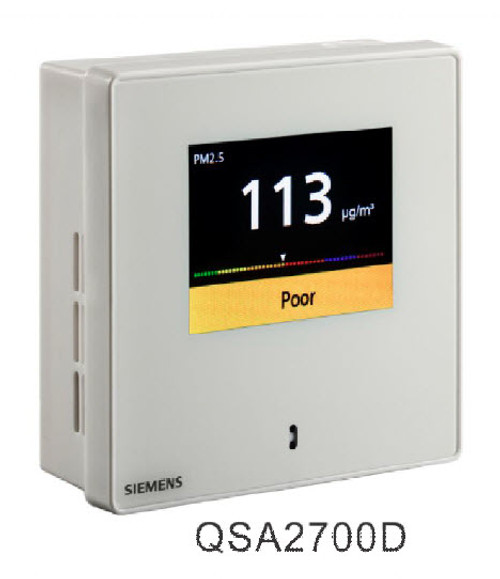 Siemens QSA2700D, S55720-S458 Fine dust sensor with display