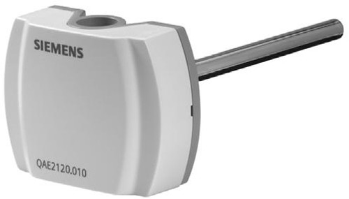 Siemens QAE2121.015 Immersion temperature sensor 150 mm LG-Ni1000, without protection pocket