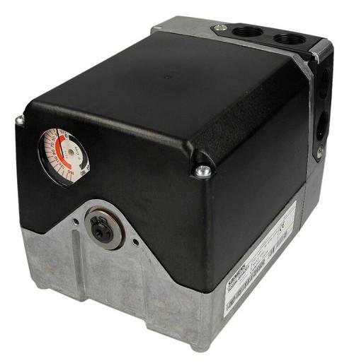 Siemens SQM53.644A2G3 Actuator, 25Nm, 90°/60s, 4 switches, shaft 9.5mm Ø, CE, 4...20mA, AC230V