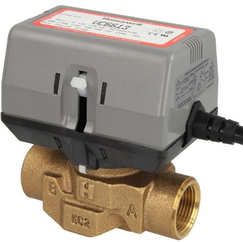 Honeywell VC6613AJ1000 2-way VC valve, 3/4″ IT, with limit switch