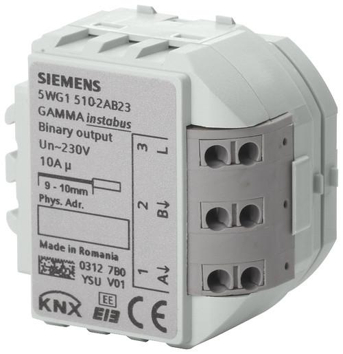 Binary Output, 2 x AC 230 V, 10 A (resistive load), 5WG1510-2AB23, RS 510/23