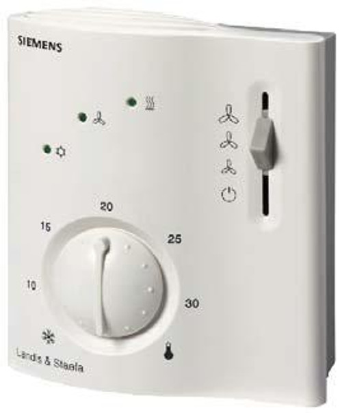 Siemens RCC20 Room thermostat for 2-pipe fan coils