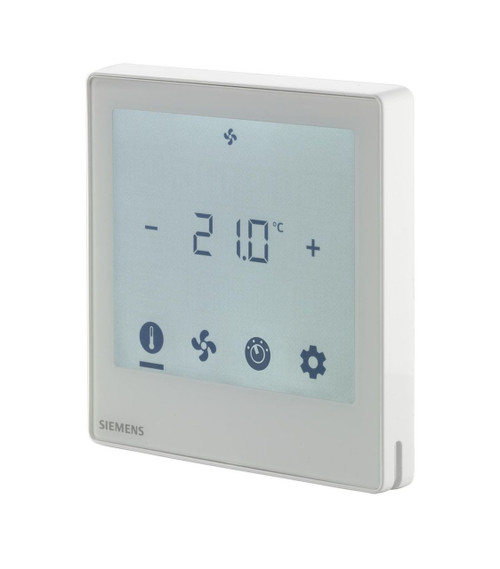 Siemens RDF800KN, S55770-T350 Touch screen room thermostat with KNX