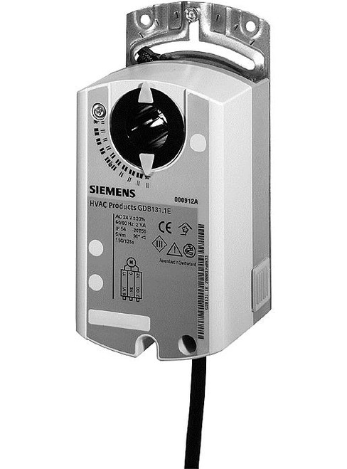 Siemens GDB166.1E, S55499-D269 Rotary air damper actuator