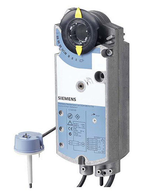 GGA126.1E/T10 actuator for fire protection dampers
