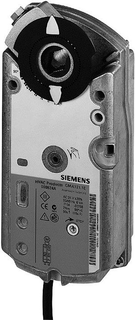 Siemens GMA132.1E Rotary air damper actuator