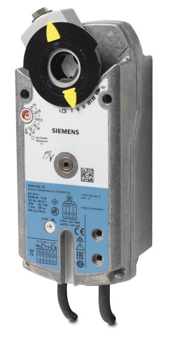 Siemens GMA166.1E Rotary air damper actuator