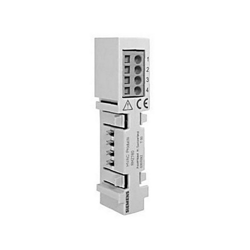 Siemens RMZ780 Module connector for detached mounting of extension modules within the control panel