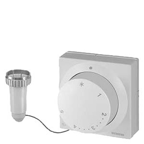 Siemens RTN81 Thermostatic actuator with remote adjuster