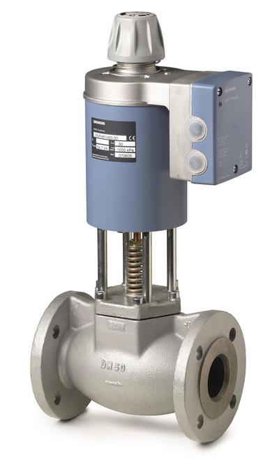 Siemens MVF461H25-8, 2-port seat magnetic control valve