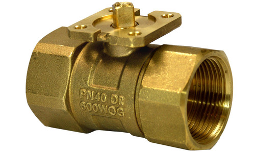 Siemens VAI61.32-10, 2-port ball valve, internal thread, PN40, DN32, kvs 10