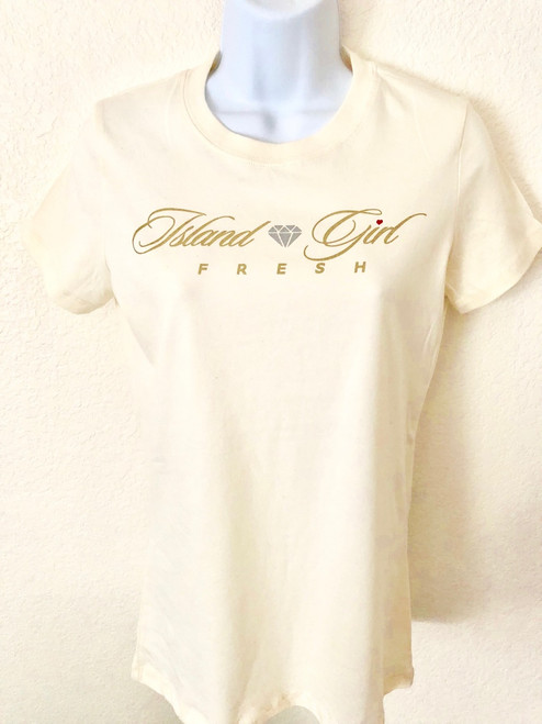 """Diamond Girl"" Cream & Gold"