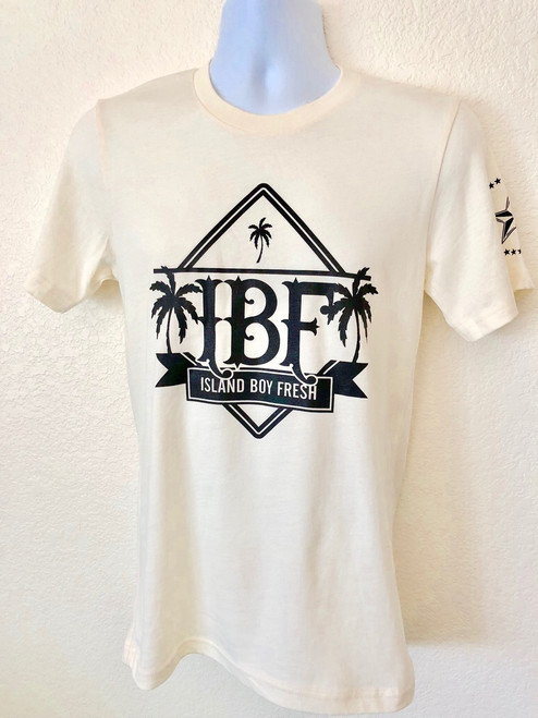 """Diamond Pyramids"" Cream & Black"